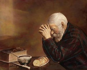 Christian: be disciplined in prayer.  Courtesy: http://www.historyandtheology.com/?p=3377